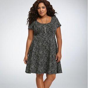 TORRID Knit Skater Dress